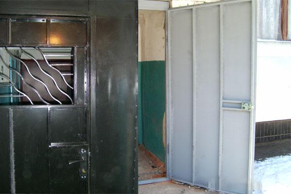 металлические двери для подвала в щелково