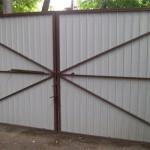 Ворота из профнастила в городе Сумы