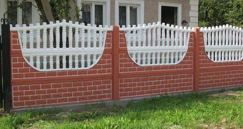 Восемь преимуществ декоративного забора из бетона