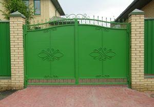 Ворота и калитки из металла купить в городе Сумы