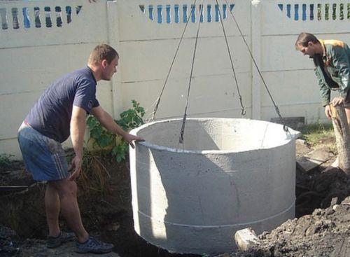 Колодцы канализационные железобетонные: преимущества и технология монтажа