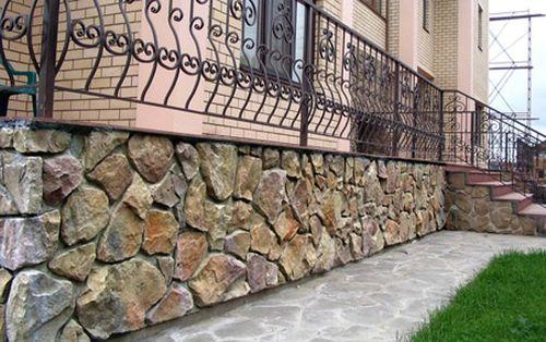 Бутовый камень (бут) в строительстве