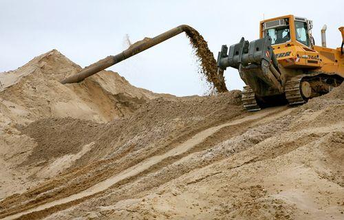 Сорта строительного песка