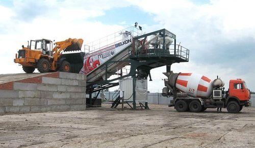 Транспортировка бетона