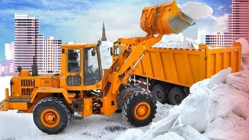 Чистка и уборка снега в городе Сумы